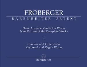 Froberger, J: Keyboard & Organ Works, Vol. 1. Libro Secondo (1649) (New Edition) Product Image
