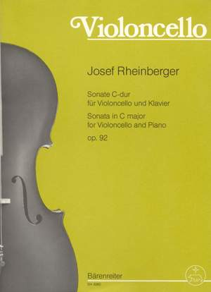 Rheinberger, J: Sonata in C, Op.92 Product Image
