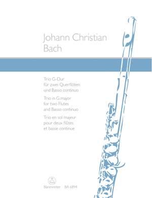Bach, JC: Trio in G