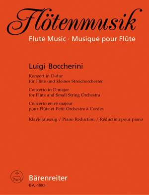 Boccherini, L: Concerto for Flute in D, Op.27 (G.489)