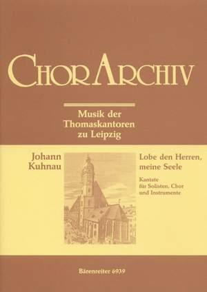Kuhnau, J: Lobe den Herren, meine Seele (Psalm No.103) (G)