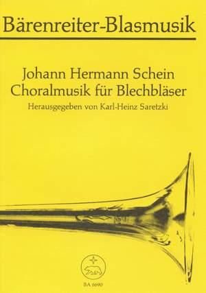 Schein, J: Chorale Music for Brass. 19 Pieces