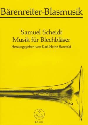 Scheidt, S: Music for Brass. 9 Pieces