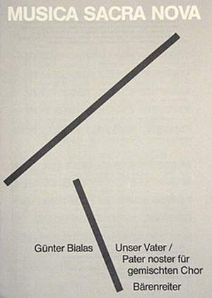 Bialas, G: Unser Vater; Pater noster (1980)