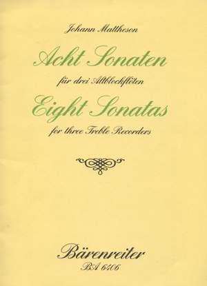 Mattheson, J: Sonatas (8), Op.1/ 3-10