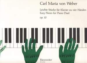 Weber, C: Easy Pieces, Op.10