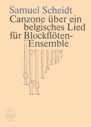 Scheidt, S: Canzona on a Belgian Song