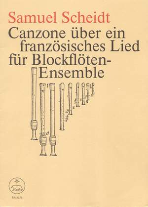 Scheidt, S: Canzona on a French Song