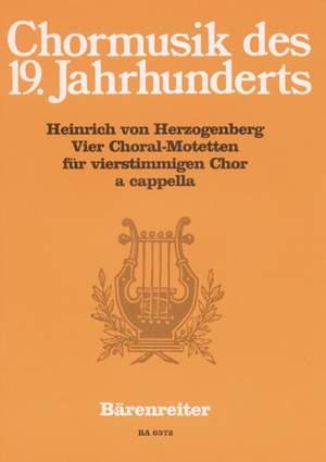Herzogenberg, H: Choral Motets (4) (G)