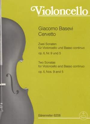 Cervetto, G: Sonatas (2), Op.2/9 & 5