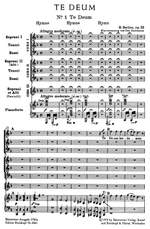 Berlioz, H: Te Deum, Op.22 (Urtext) Product Image