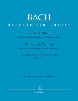 Bach, JS: Concerto for Violin and Oboe in C minor (after BWV 1060) (reconstr. W. Fischer)