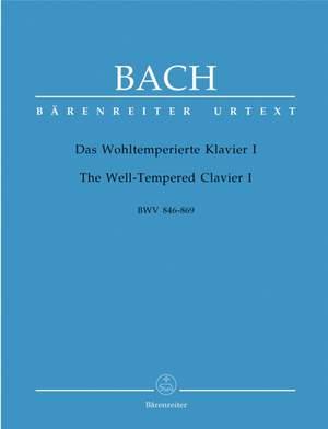 Bach, JS: Well-Tempered Clavier, Book 1 (BWV 846-869) (Urtext)