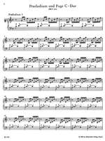Bach, JS: Well-Tempered Clavier, Book 1 (BWV 846-869) (Urtext) Product Image