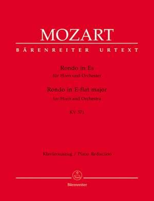 Mozart, WA: Rondo in E-flat (K.371) (Urtext)