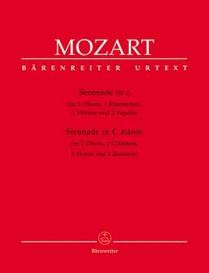 Mozart, WA: Serenade No.12 in C minor (K.388/384a) (Urtext)