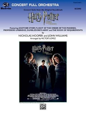 Nicholas Hooper/John Williams: Harry Potter and the Order of the Phoenix, Concert Suite from