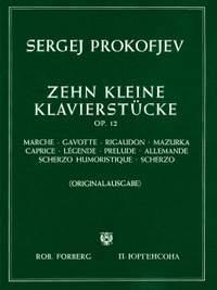 Prokofiev: 10 Little Piano Pieces (Complete) Op.12
