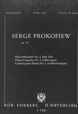 Prokofiev: Piano Concerto No.1 in D flat Op.10