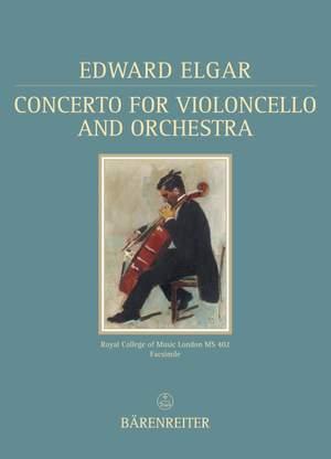 Elgar, E: Concerto for Violoncello in E minor, Op.85 (Urtext)