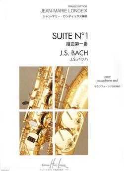 Bach, Johann Sebastian: Suite No.1 (saxophone)