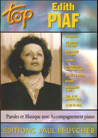 Edith Piaf: Top Piaf (topline/voice)