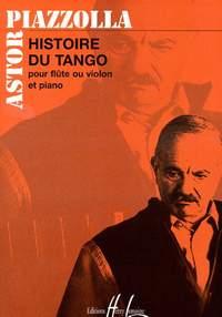 Piazolla, Astor: Histoire Du Tango (flute and piano)