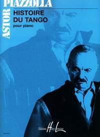 Piazolla, Astor: Histoire du Tango (piano)
