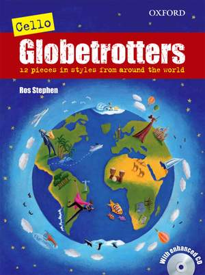 Stephen, Ros: Cello Globetrotters + CD