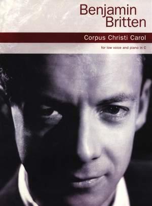 Benjamin Britten: Corpus Christi Carol - Low Voice/Piano