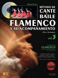 David Leiva Prados: Metodo De Cante Y Baile Flamenco Vol 3