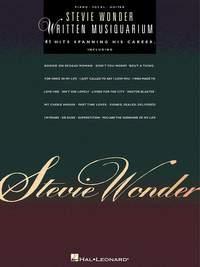 Stevie Wonder - Written Musiquarium