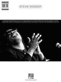 Stevie Wonder - Note For Note Keyboard Transcr.
