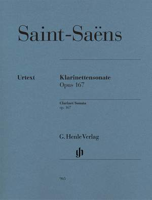 Camille Saint-Saëns: Clarinet Sonata Op.167