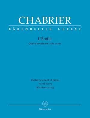 Chabrier, E: L'Etoile (F-G) (Urtext) Product Image