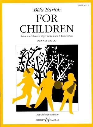 Bela Bartok for Children Vol.1 (piano)