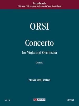 Orsi, C: Concerto