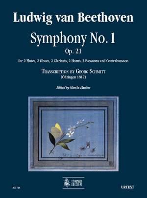 Beethoven, L v: Symphony No. 1 (Transcription by Georg Schmitt - Öhringen 1817) op. 21