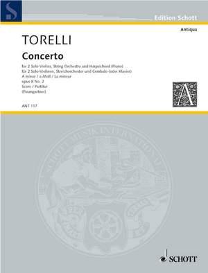 Torelli, G: Concerto op. 8/2