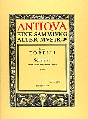 Torelli, G: Sonata a 4 op. 8/2