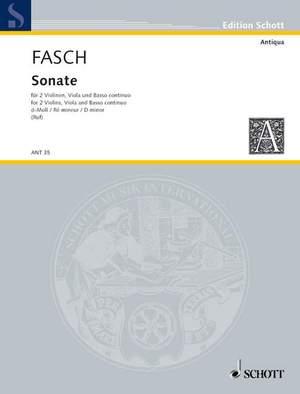 Fasch, J F: Sonata D Minor
