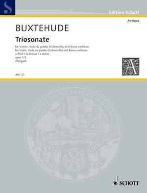 Buxtehude, D: Triosonata a minor op. 1/3 Product Image