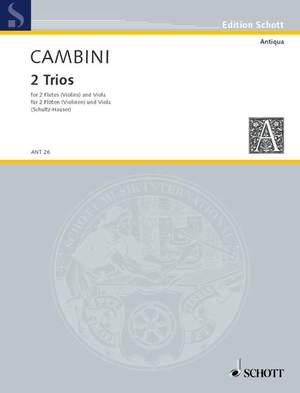 Cambini, G G: 2 Trios