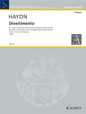Haydn, J M: Divertimento C major