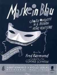 Raymond, F: Maske in Blau