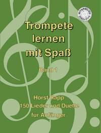 Rapp, H: Trompete lernen mit Spaß Band 1