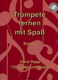 Rapp, H: Trompete lernen mit Spaß Band 2