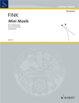 Fink, S: Mini Musik Product Image