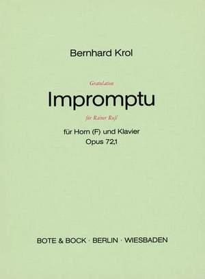 Krol, B: Gratulation Impromptu für Rainer Ruß op. 72/1
