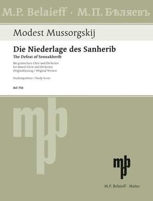 Moussorgsky, M: The Defeat of Sennakherib